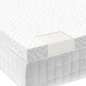"Twin Isolus 2"" Latex Foam Mattress Topper"