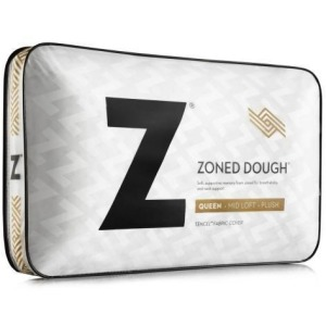 Zoned Dough Mid Loft Queen Pillow