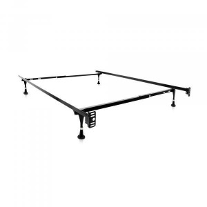 Malouf Twin/Full Adjustable Bed Frame w/Glides
