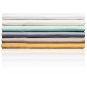 Woven Tencel Sheet Set - Queen, White