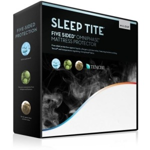 Five 5ided® Mattress Protector with Tencel® + Omniphase® Full