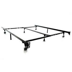 Low Profile Adjustable Bed Frame Glides,
