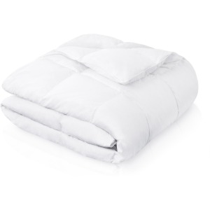 Down Blend Comforter  Oversized Queen