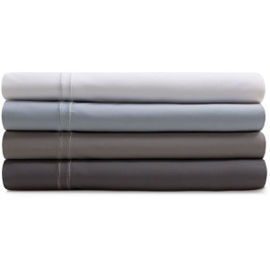 Supima® Cotton Sheets Queen Pillowcase Charcoal