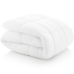 Down Alternative Microfiber Comforter Oversized Queen