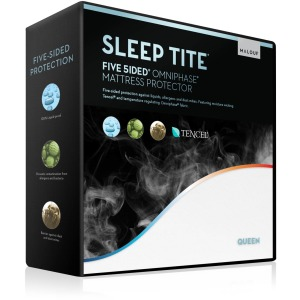 Five 5ided® Mattress Protector with Tencel® + Omniphase®, Queen