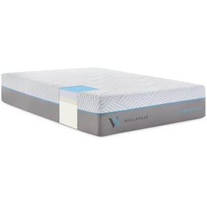 Wellsville 14 Inch CarbonCool™ Mattress Split Queen