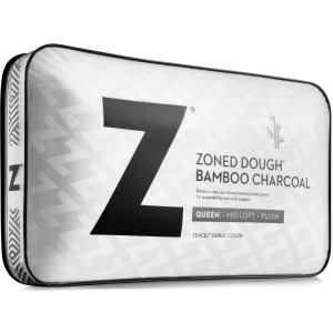Zoned Dough® + Bamboo Charcoal King High Loft