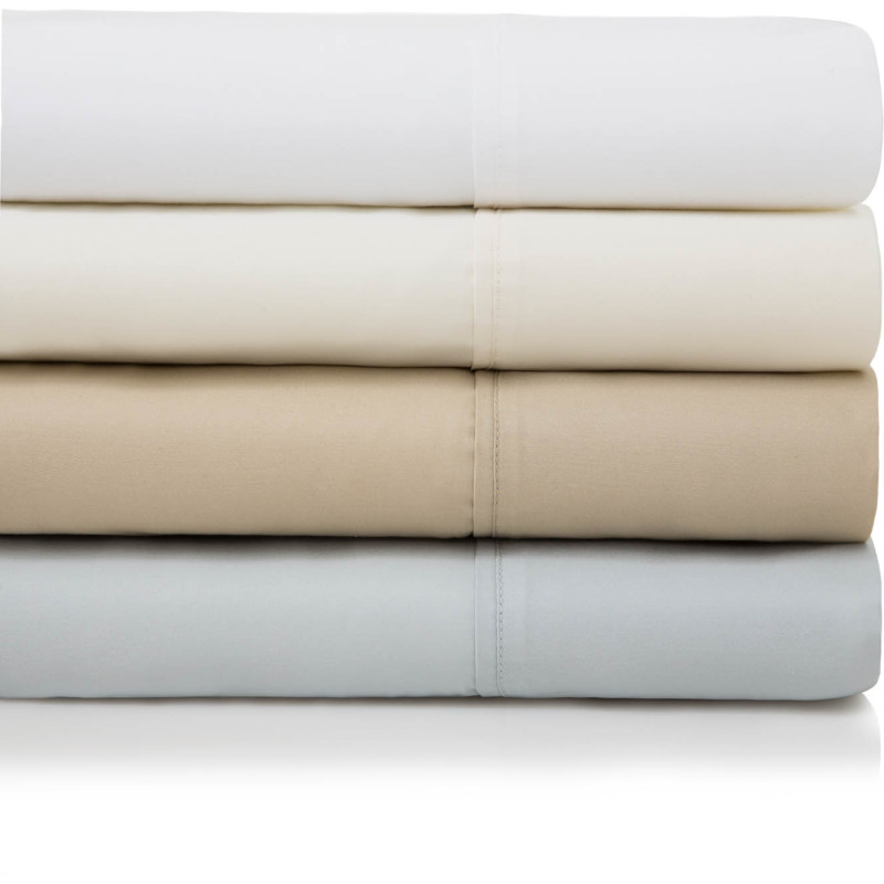 600 TC Cotton Blend King Pillowcase Driftwood