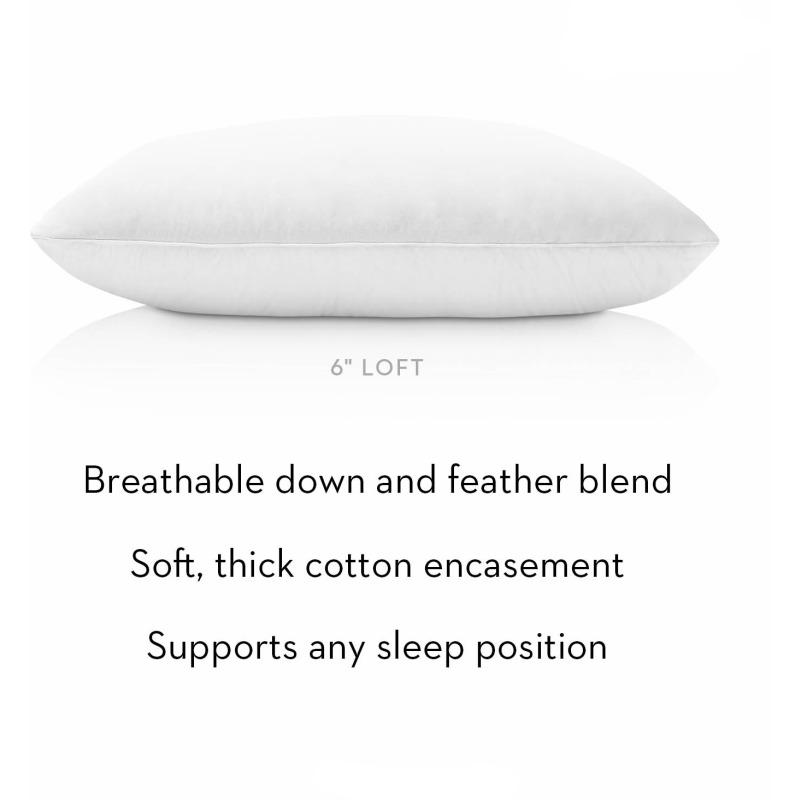 Cotton Encased Down Blend King Pillow