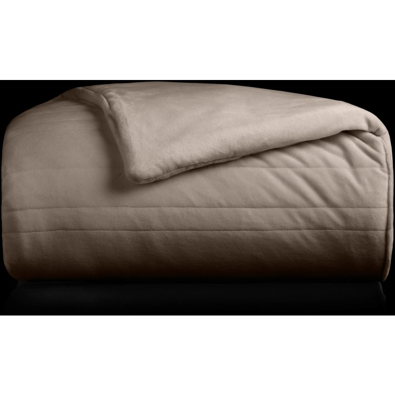 "Malouf Weighted Blanket, 48"" x 72"", 20 lbs, Driftwood"