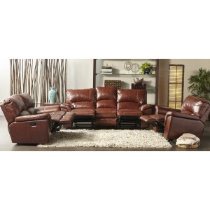 Dual Power Motion Power Loveseat