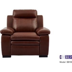 Stationary Leather Chair