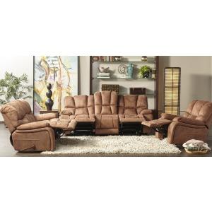Glider Dual Motion Sofa W/ Drop Down Table