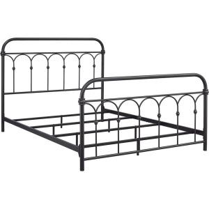 Hallwood Twin Rust Metal Bed