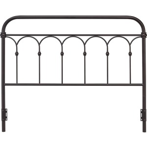 Hallwood Queen Rust Metal Headboard
