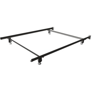 Premium Twin Craft-Lock Bed Frame with Glides
