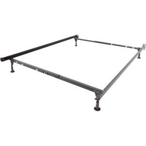 Twin/Full/Queen Bed Frame with Glides