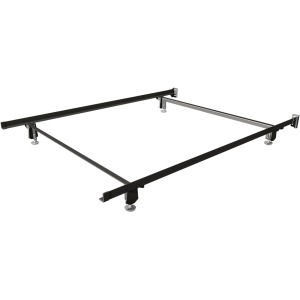 Premium Twin Craft-Lock Bed Frame with Rollers