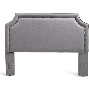 Brantford King/Cal King Upholstered Headboard - Grey