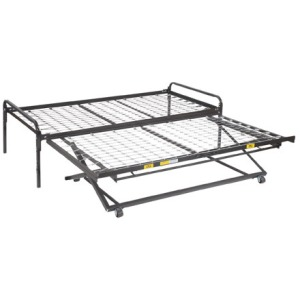 Trundle Combination poly-deck top spring and pop up trundle