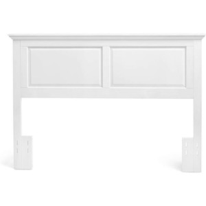 Cottage Style Full/Queen Headboard in Gloss White