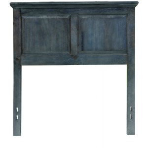 Full/Queen Wedgewood Blue Cottage Style Headboard