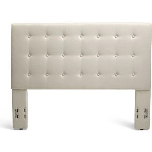 Stratford Full/Queen Upholstered Headboard - Taupe