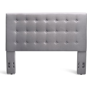 Stratford King/Cal King Upholstered Headboard - Grey