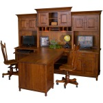 Henry Stephens Partner Desk Hutch
