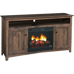 """Linwood 55"""" TV Console w/Fireplace"""