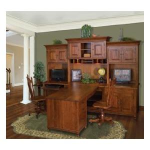 Henry Stephens Partner Desk Hutch