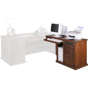 Right Hand Facing Keyboard Return for 68 Executive Desk