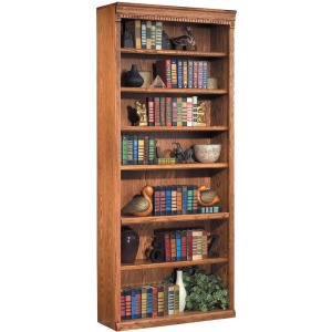 "84\"" Open Bookcase"