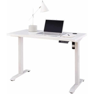 Electric Sit/Stand Desk - White