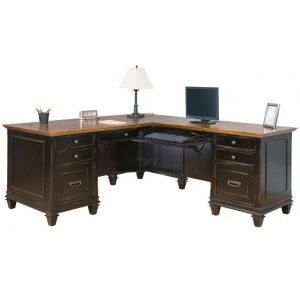 Hartford L-Shaped Desk