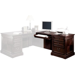 Right Hand Facing Keyboard Return for 74 Executive Desk