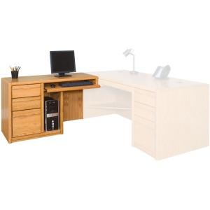 Left Hand Facing Keyboard Return for 68 Executive Desk