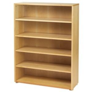 5-Shelf Bookcase Chestnut