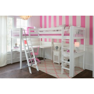 Maxtrix Loft Bed with Desk