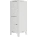 Narrow 4 Drawer Dresser