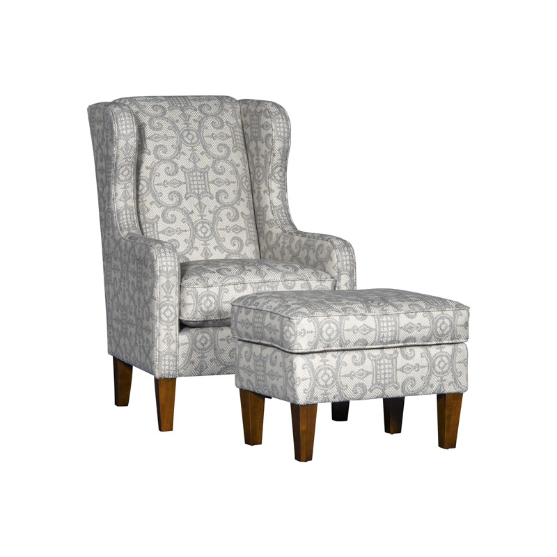 Hylan Chair and Ottoman