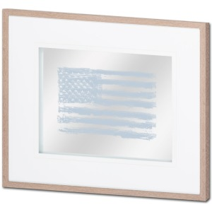 Amercian Scratch Flag I!Grey