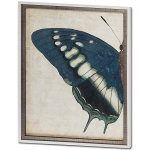 Blue Butterfly Diptych I