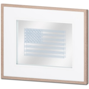 Amercian Stripe Flag 2 Grey