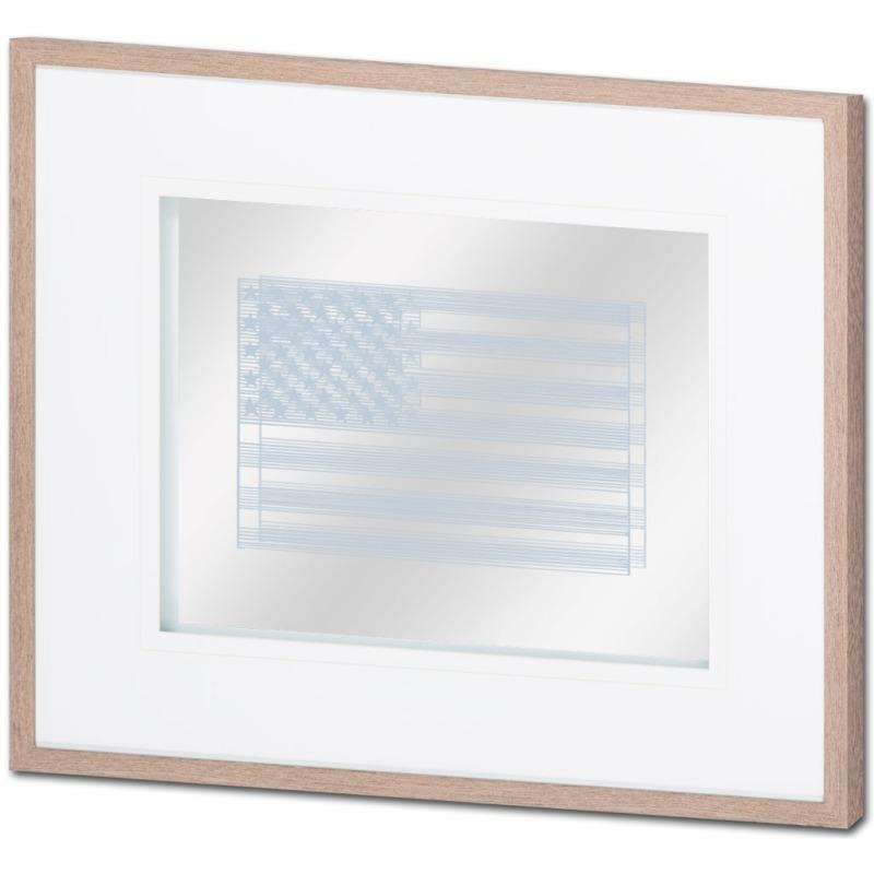 Amercian Stripe Flag 2 Grey