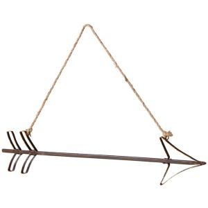 Arrow on Rope Hanger