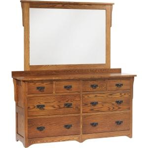 Low Dresser Mirror