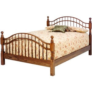 Double Bow Bed Queen