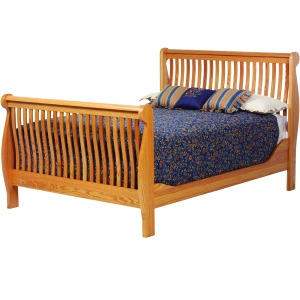 River Sleigh Bed Queen